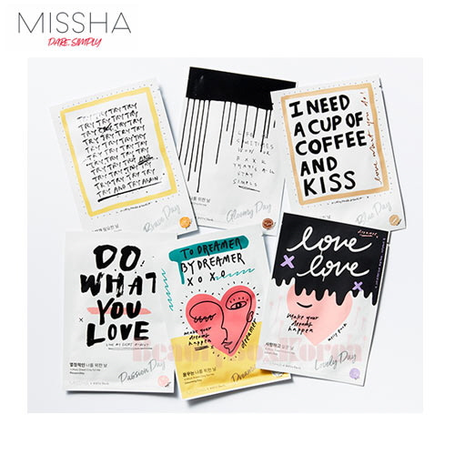 MISSHA A Mask Sheet only For Me 23ml*10ea [Kelly Park Edition][Online Excl.]